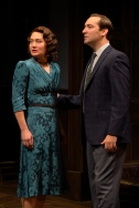 Marthe (Kate Guentzel) and David (Hugh Kennedy). Photo by Kevin Berne.