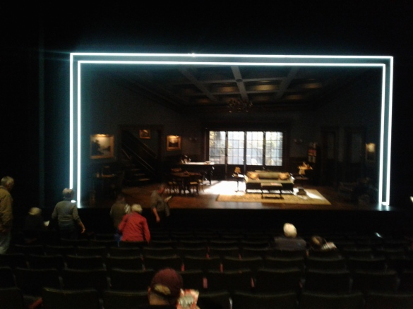 Watch on the Rhine at Berkeley Rep - set
