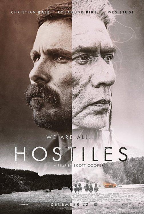 Hostiles - poster