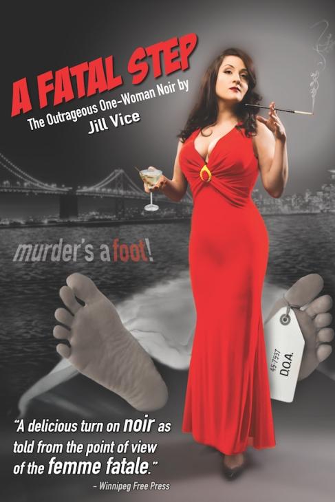 Jill Vice - A Fatal Step - poster