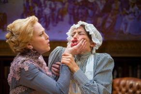 Blanche (Megan Trout) and the maid (Sarah Mitchell). Photo by David Allen.