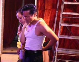 Stella (Sarita Ocón) and Stanley (Ogie Zulueta). Photo by Ubuntu Theater Project
