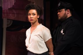 Sarah (Marissa Rudd) learns a harsh truth about freedom. Photo by Ben Krantz.