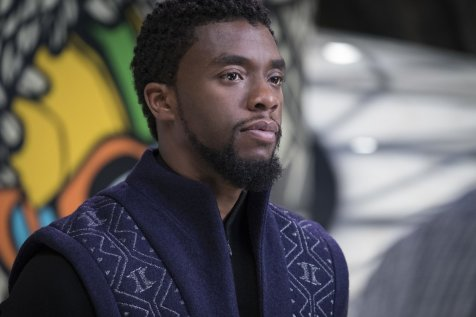 Chadwick Boseman as T'Challa, The Black Panther (c) Marvel Studios