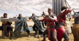 Ayo (Florence Kasumba) and Nakia (Lupita Nyong'o). (c) Marvel Studios.