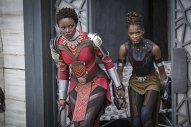 Nakia (Lupita Nyong'o) and Shuri (Letitia Wright). (c) Marvel Studios