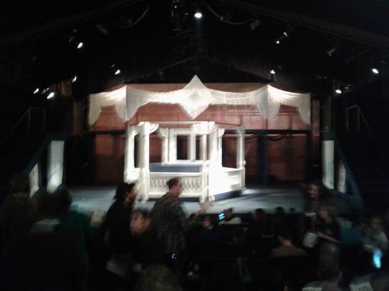 Ragtime at Berkeley Playhouse - set