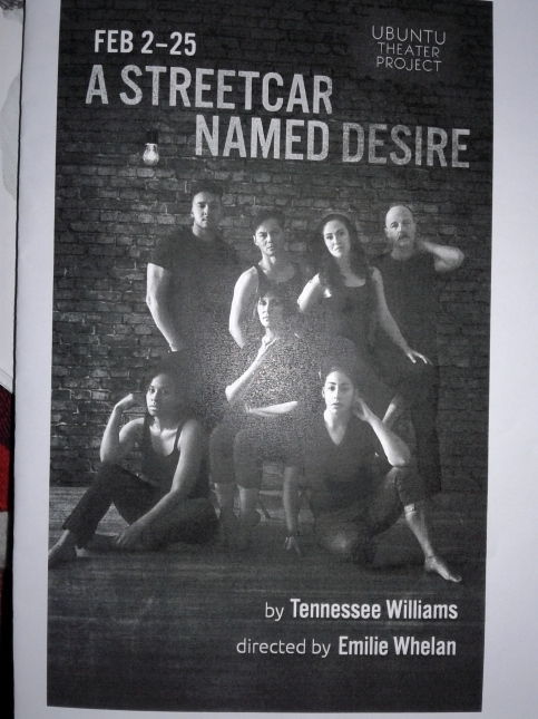 Streetcar Named Desire at Ubuntu - programme