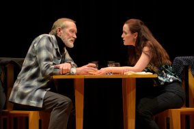 Alex (James Carpenter) and Georgie's (Sarah Grace Wilson) first date. Photo by Kevin Berne.