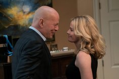 Bruce Willis and Elisabeth Shue. Photo by Takashi Seida for MGM Pictures.