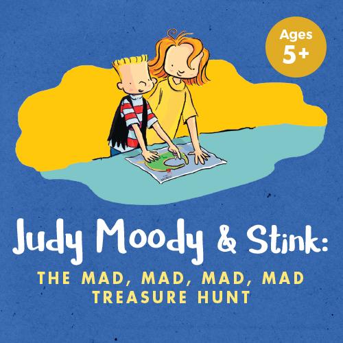 Judy Moody...Treasure Hunt at BACT - poster