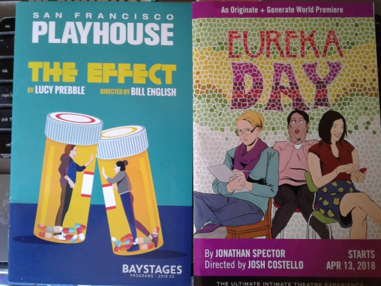 The Effect AND Eureka Day programmes