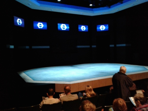 The Effect at SF Playhouse - set