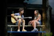 Ross (Nick Sacks) hopes to make beautiful music with Alison (Brigid O'Brien). Photo by Alessandra Mello.
