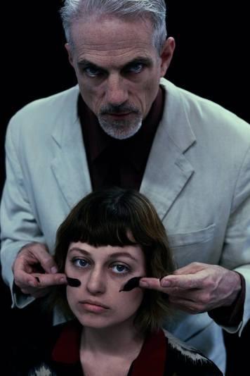President Masaryk (Paul Loper) and a robot (Ellie MacBride). Photo by Marisa Darabi.