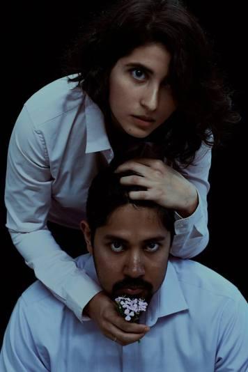Jo (Marisa Darabi) and Peroutka (Dean Koya). Photo by Marisa Darabi.