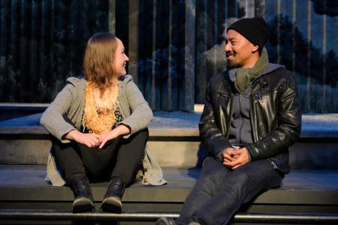 Jenny Nelson and Jomar Tagatac. Photo by Alessandra Mello.