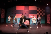 Kenickie (Yohana Ansari-Thomas) shows off the newly-dubbed 'Greased Lighting'. Photo by Ben Krantz.