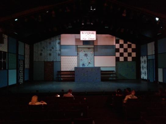 Grease at Berkeley Playhouse - set