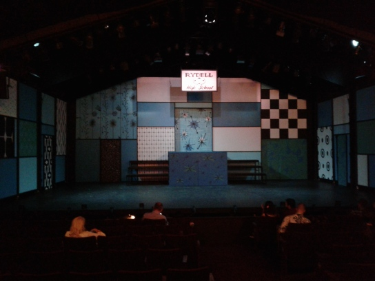 Grease at Berkeley Playhouse - set