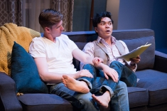 When Gus (Adam Donovan) is with Tanner (Jed Parsario), you'd think he had everything he could ever want. Photo by Ben Krantz.