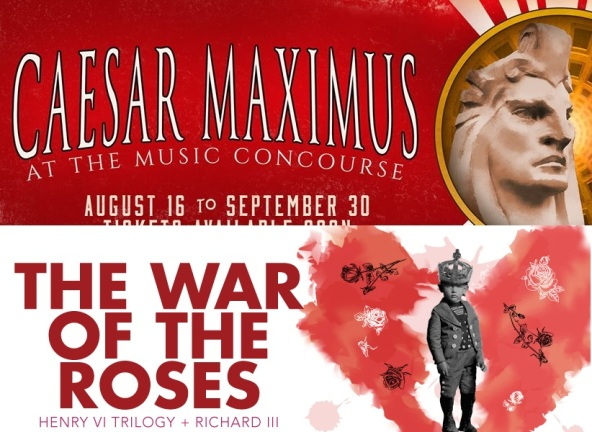 COMPOSITE - Caesar Maximus by We Players AND War of the Roses by Cal Shakes