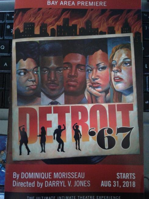 Detroit '67 Bay Area premiere at Aurora - programme