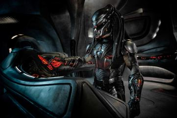 The Predator (Brian A. Prince) makes his presence known. Photo by Kimberley French for 20th Century Fox.