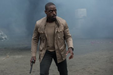 Company man Traeger (Sterling K. Brown) may have gotten more than he bargained for. Photo by Kimberley French for 20th Century Fox.