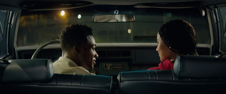 Khalil (Algee Smith) wanted to give Starr (Amandla Stenberg) a night she'd never forget. Photo courtesy of 20th Centur Fox.