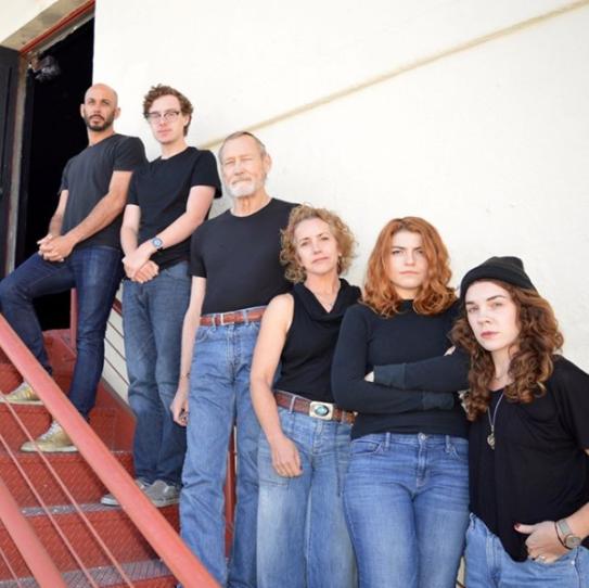 L-R: Wiley Naman Strasser, Andrew LeBuhn, James Carpenter, Emilie Talbot, Emily Radosevich, Martha Brigham. Photo courtesy of The Magic Theatre.