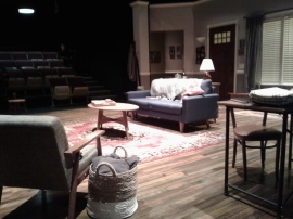 Pre-show set by Edward T. Morris. Photo by Me.