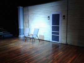 Act II set by Edward T. Morris. Photo by Me.