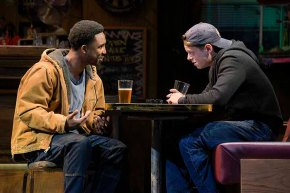 Chris (Kadeem Ali Harris) and Jason (David Darrow) have a solid friendship, but different plans for the future. Photo by Kevin Berne.