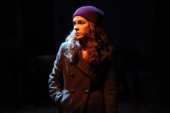 Annie (Martha Brigham) reluctantly returns to her home town to bury her brother. Photo courtesy of Magic Theatre.