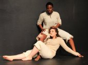 Jeunée Simon (above) and Ella Ruth Francis (below) in 'La Ronde'. Photo courtesy of Cutting Ball Theater.