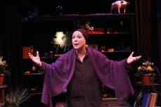 Mme. Blavatsky (Christina Aguello) has led many lives and had many loves. She'd like to tell you about each one. Photo by Jay Yamada.