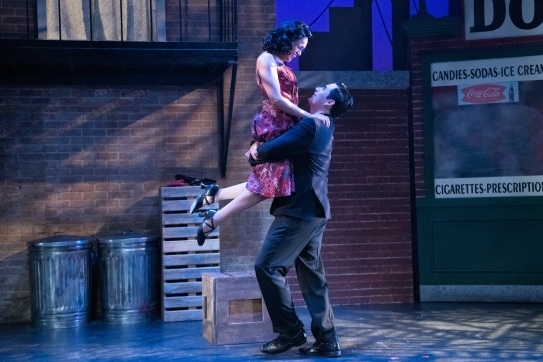 Anita (Vida Mae Fernandez) and Bernardo (David J. Bohnet) share one final happy moment together. Photo by Ben Krantz