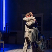 Gustav (Jonathan Rhys Williams) seems to be the only one on whom Adolph (Joseph Patrick O'Malley) can rely. Photo by David Allen for Aurora Theatre