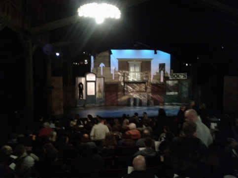 West Side Story at Berkeley Playhouse - set