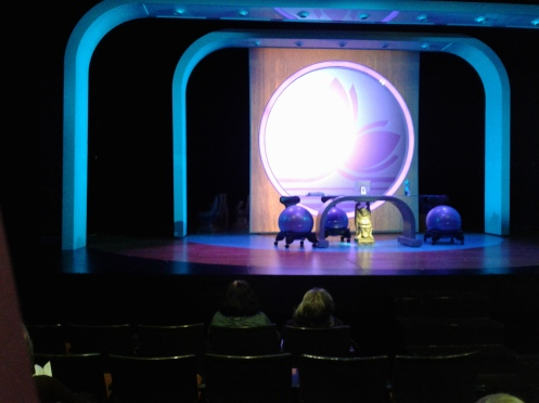 Yoga Play at SF Playhouse - set