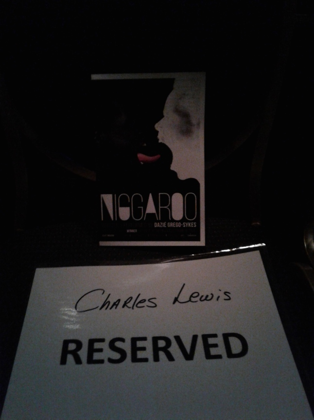 It's not often I see my name on a seat - makes me feel both fancy AND schmancy. Photo by Me.