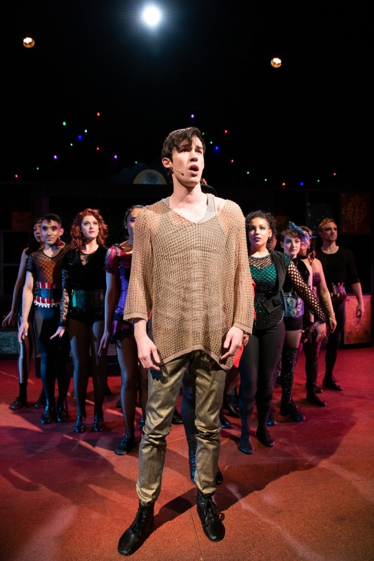 Pippin (Kamren Mahaney) longs to do something important with his life. Photo by Ben Krantz.
