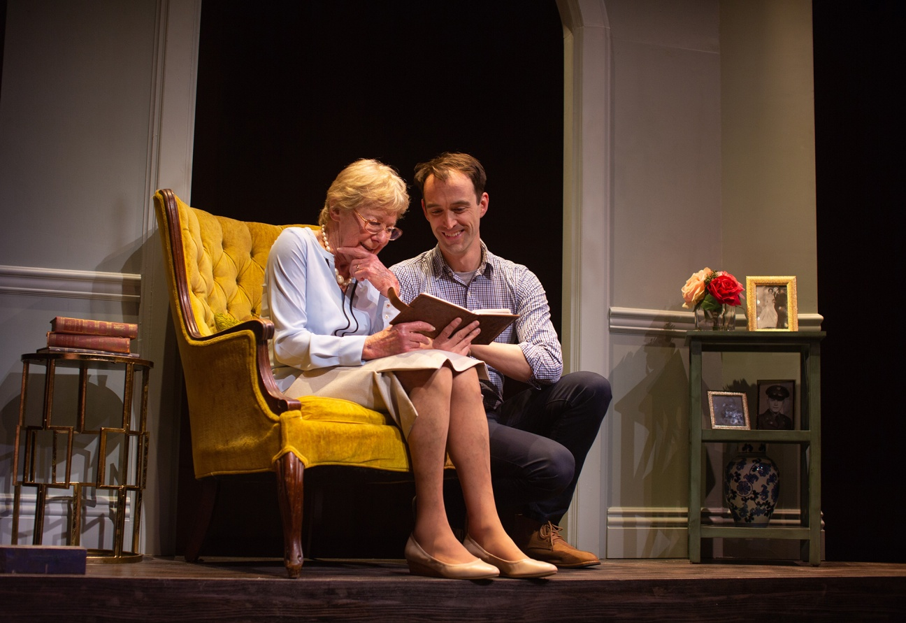 Grandmother Helene (Joy Carlin) is one of the few people Jordan (Kyle Cameron) can always count on. Photo by Jessica Palopoli.