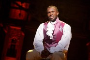 Aaron Burr, sir. Photo by Joan Marcus for SHN