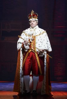 If King George III isn't played by Sir Elton John in the inevitable film, it will be the biggest missed opportunity in film history. Photo by Joan Marcus for SHN