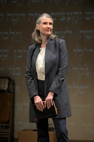 Miriam (Annette O'Toole) might not have tenure, but she certainly has opinions. Photo by Alessandra Mello