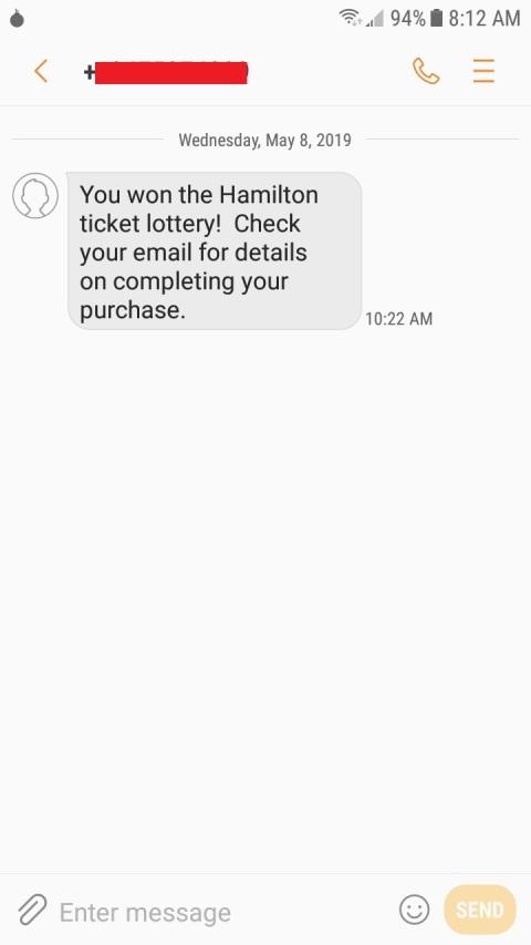 Hamilton - SHN SF (2019) - lottery text (edited)