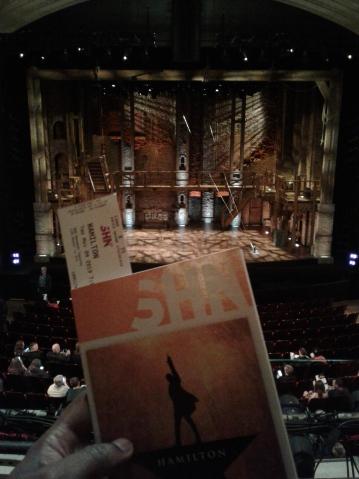 So… I finally saw 'Hamilton' last week – The Thinking Man's