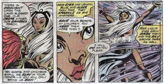 Storm - first appearance - 1
